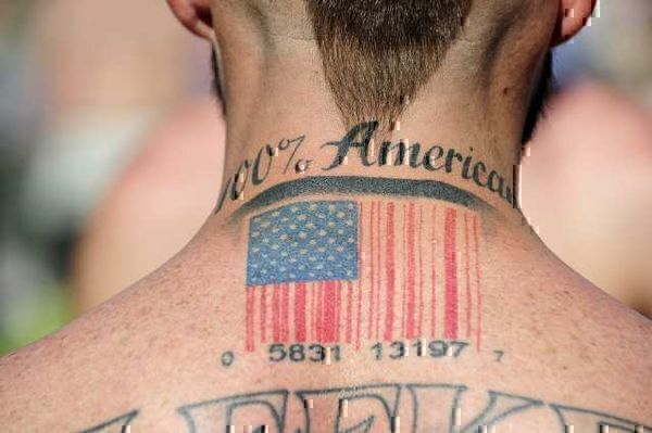 11 Worst American Flag Tattoos to Ever America