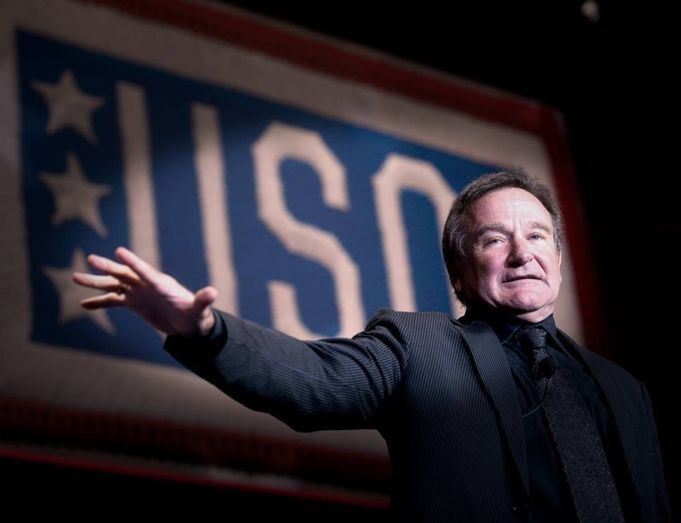 Robin Williams: Military Friendly Entertainer