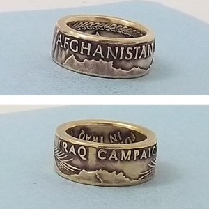 iraq afghanistan campaign medal ring