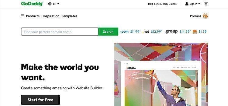 godaddy-website