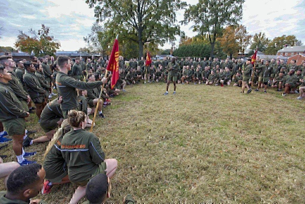 public speaking in the marines