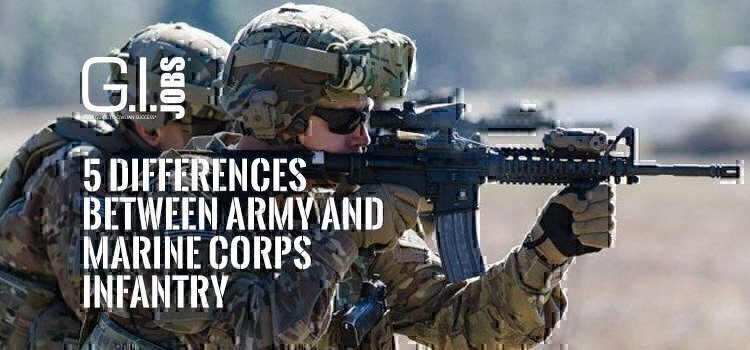 5 Differences Between Army and Marine Corps Infantry