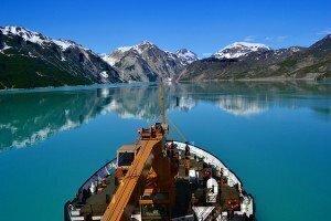 SPAR transiting glacier bay