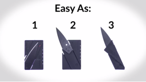 Survival Life Credit Card Knife Scam? - The InstaBlade Knife Reviewed