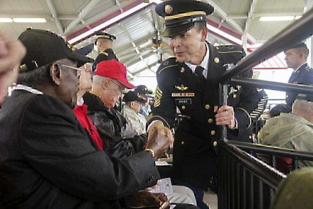veteran meeting other veterans