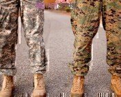 dual married to the military no more