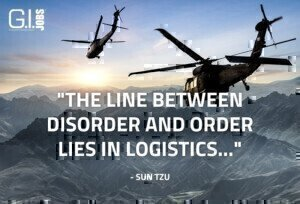 Military contracting jobs in logistics, helo