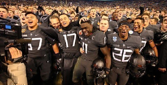 Passionate Spirit of Cadets Spurs Army's First Win in 14 Years