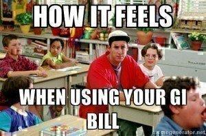 GI Bill meme