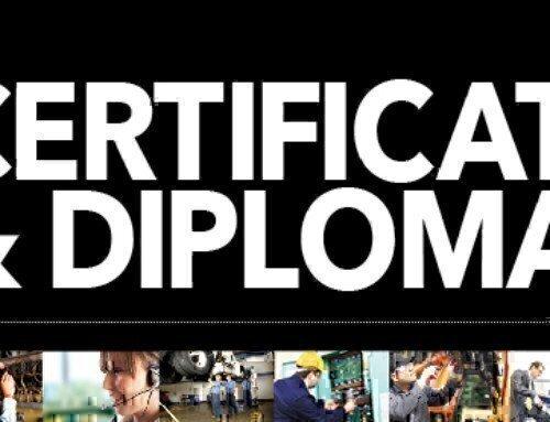 Certificates & Diplomas