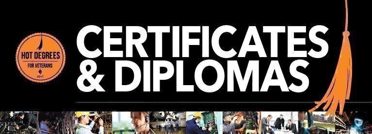 Certificates & Diplomas - Jobs for Veterans   G.I. Jobs