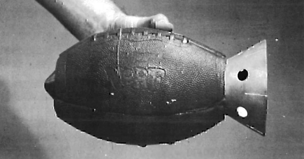 The Army Once Designed Anti-Tank Grenades Out Of Nerf Footballs