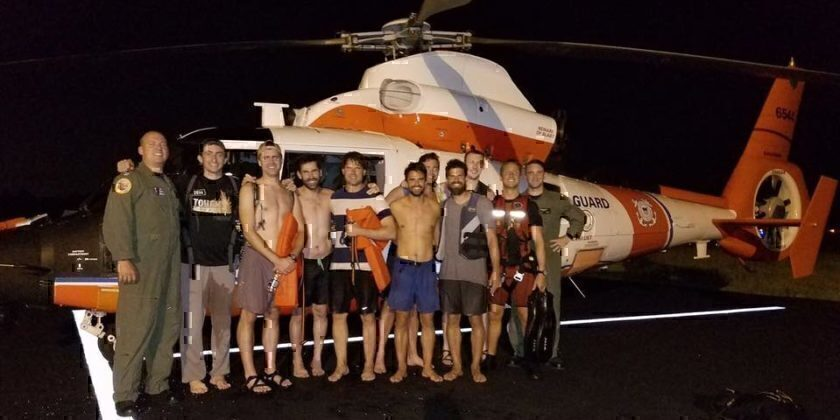 Coast Guard Rescues Bachelor Party Bros