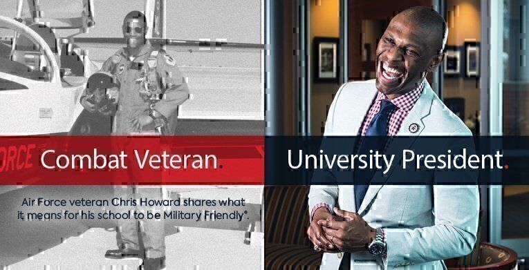 Combat Veteran and Robert Morris University President Chris Howard Shares What It Means to Be Military Friendly