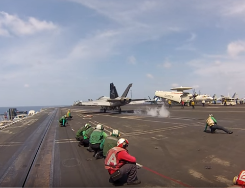 Amazing Video of a Launch From The Deck of an Aircraft Carrier