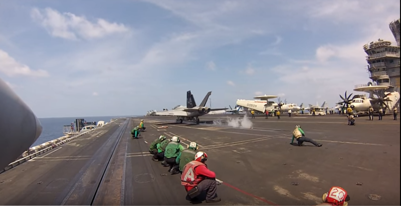 Amazing Video Of A Launch From The Deck Of An Aircraft