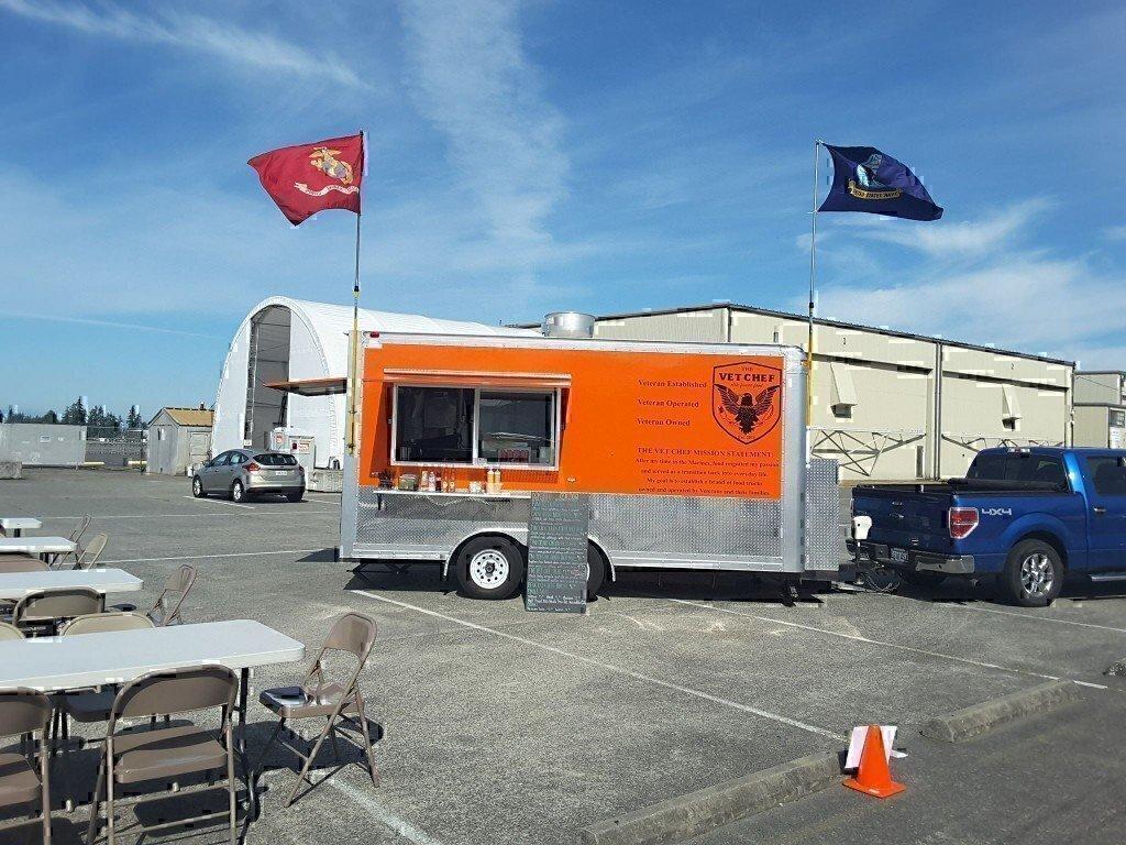 USMC veteran owns food truck