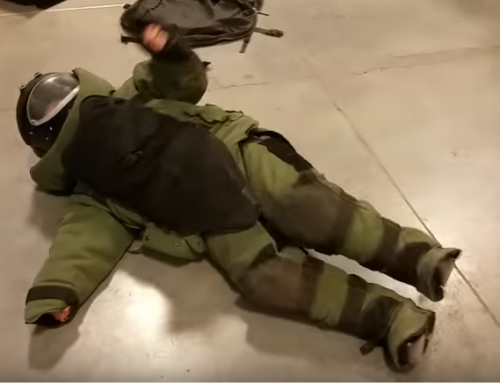 Watch What Happens When You Put A Civilian In A Bomb Suit