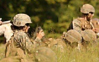First Female Infantry Officer