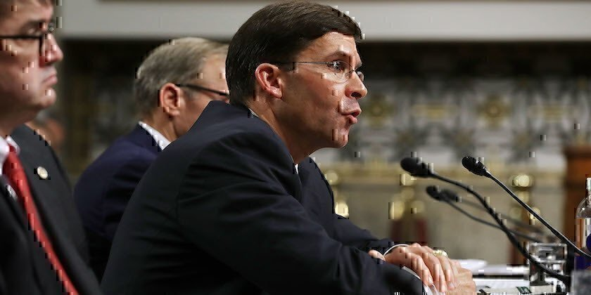 Mark Esper Is the New Secretary of the Army