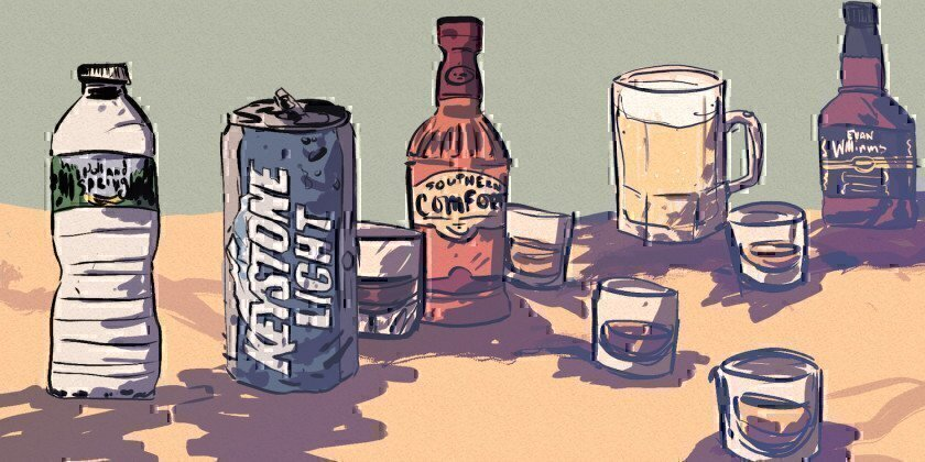 What You Drink As An Enlisted Troop at Each Career Stage