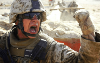 the origin story of the marines oo rah battle cry