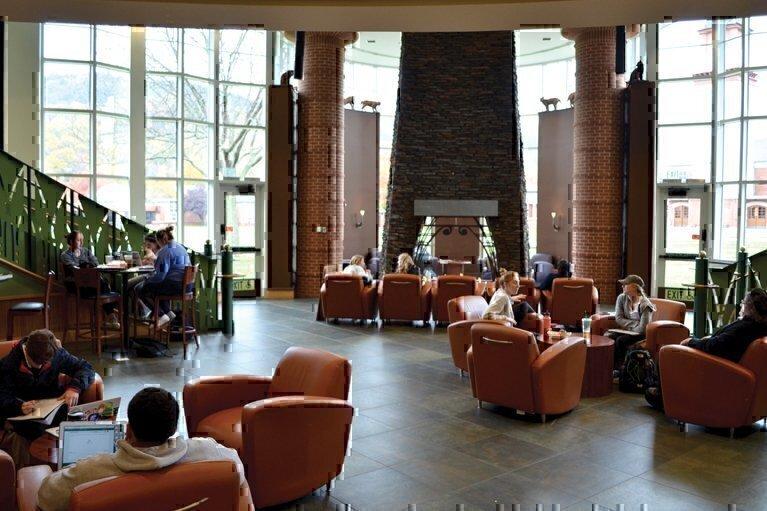Quinnipiac University Lobby
