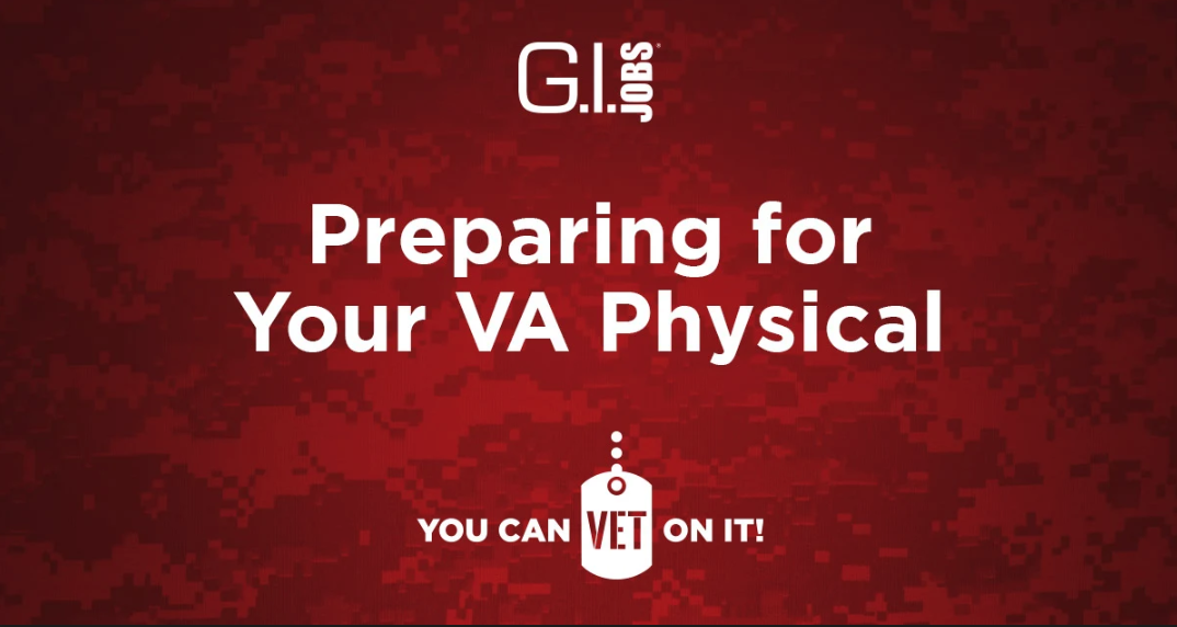 Preparing For Your VA Physical