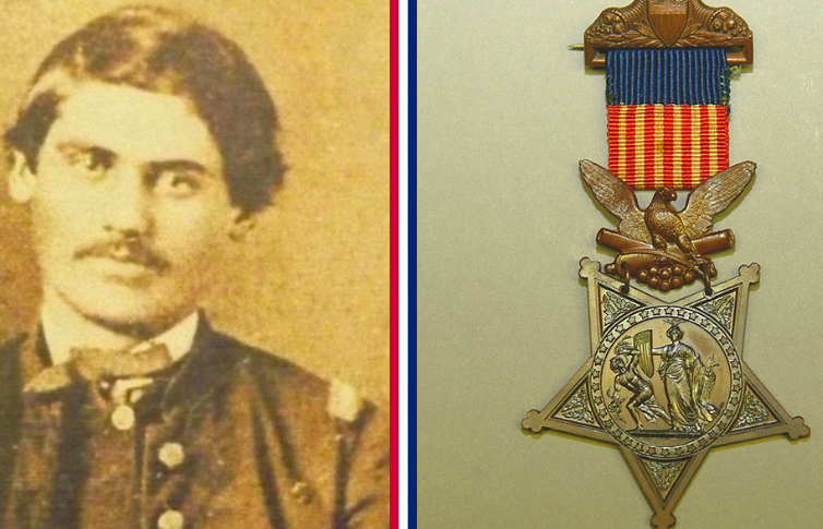 The First Medal of Honor Was Given For Stealing A Train