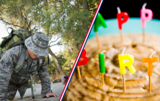 birthday in the military