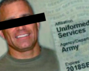 a photo of a fake id card
