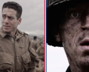 band of brothers characters in action close up