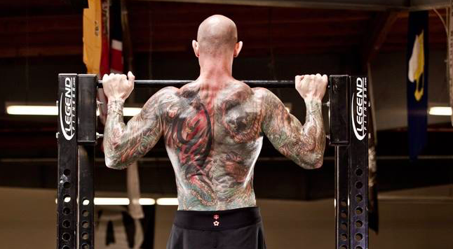 Jim Stoppani works out