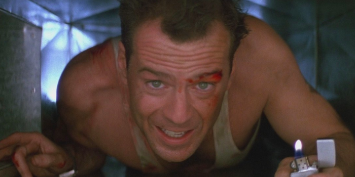 a picture of Bruce Willis from Die Hard