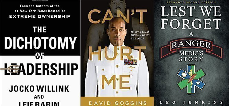5 top veteran leadership books
