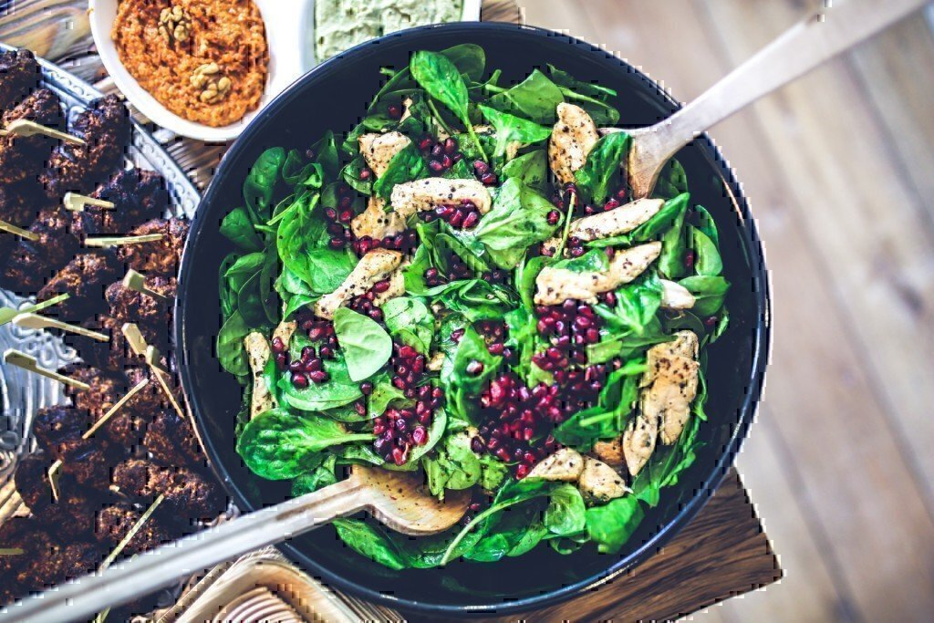 a chicken salad