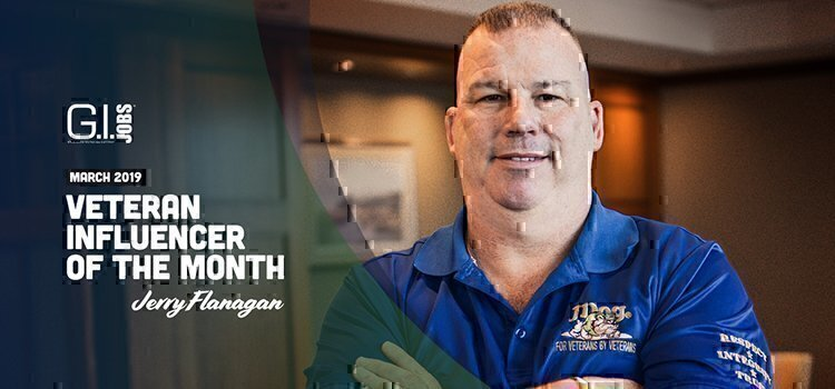 jerry flanagan influncer of the month veteran
