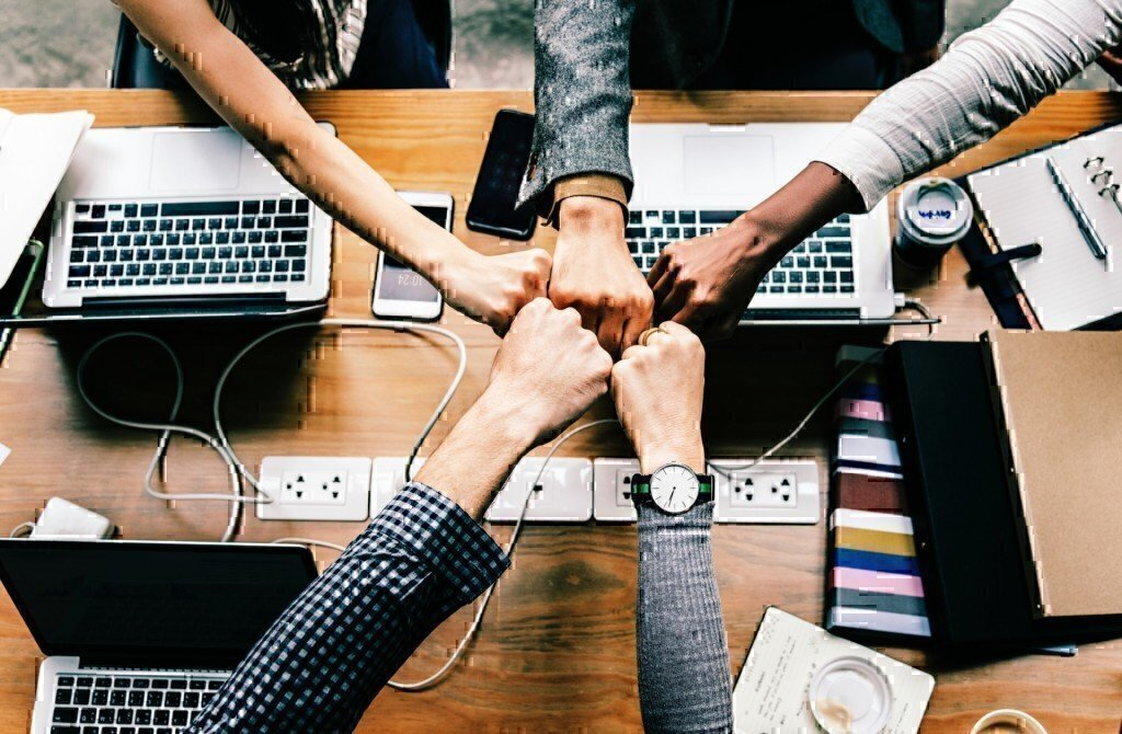 team work together