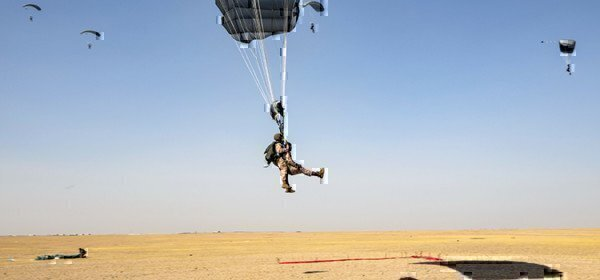 jump from an airplane
