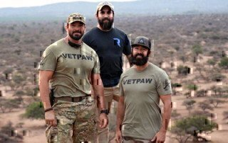 vetpaw working in africa to stop poaching