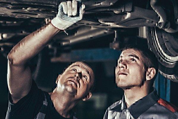 a group of mechanics