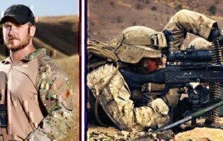 christ kyle american sniper next to bradley cooper