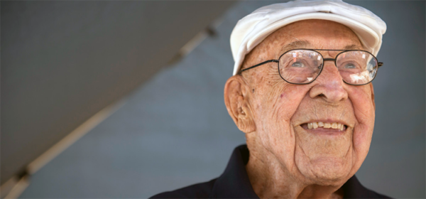 lt col dick cole smiling before he passed away at age 103