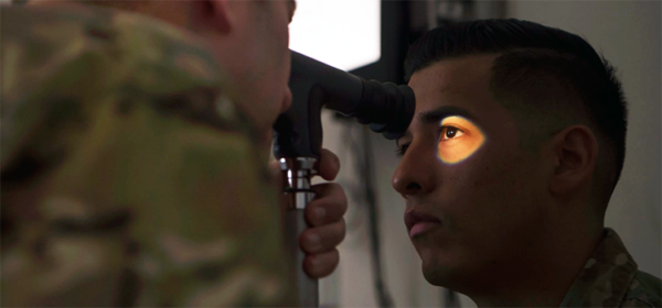 eye care in the military