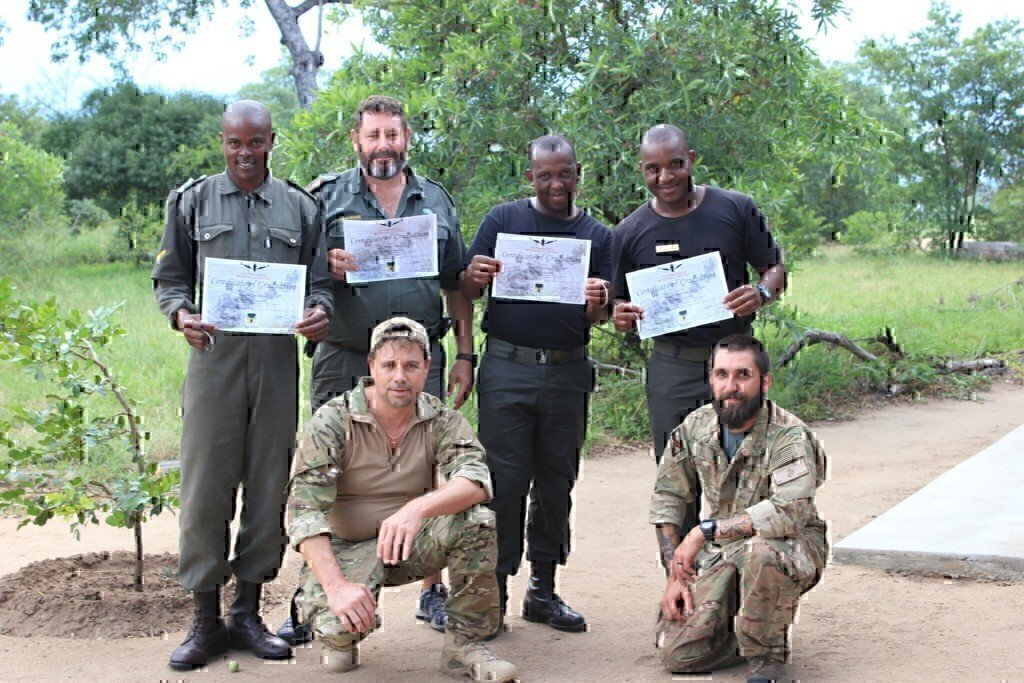 vetpaw in africa training against poachers