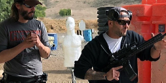 keanu reeves training for john wick 3 with navy seals
