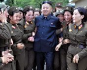 military woman north korea