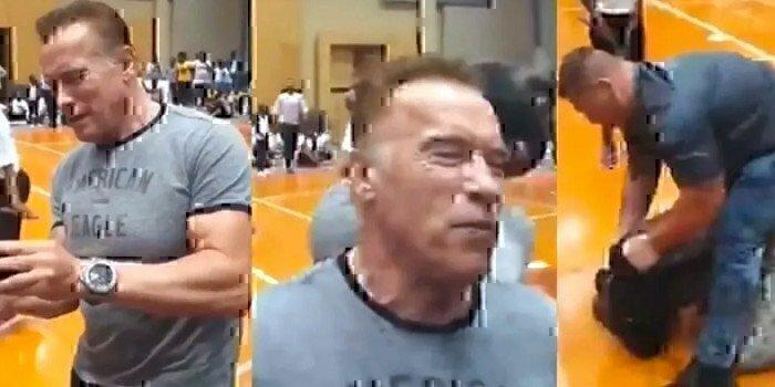 Arnold-Schwarzenegger-gets-drop-kicked