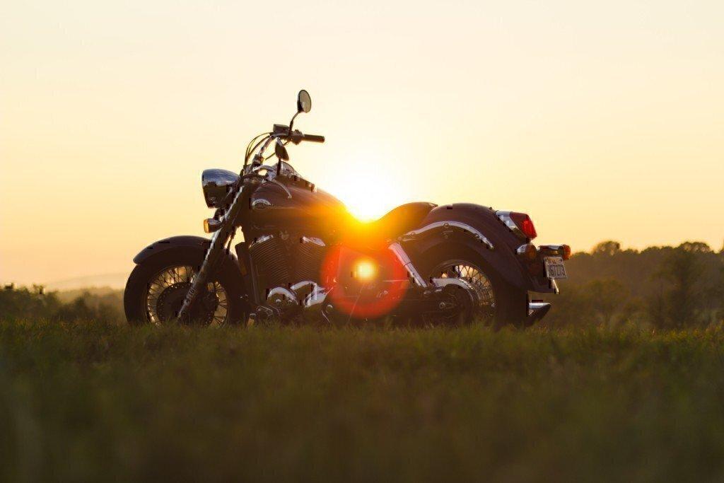 motorcycle-bike-sunset