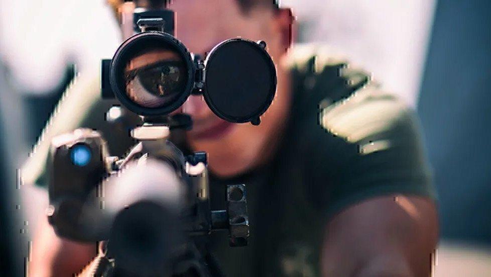 looking-through-scope